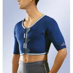 Soporte de hombro bilateral